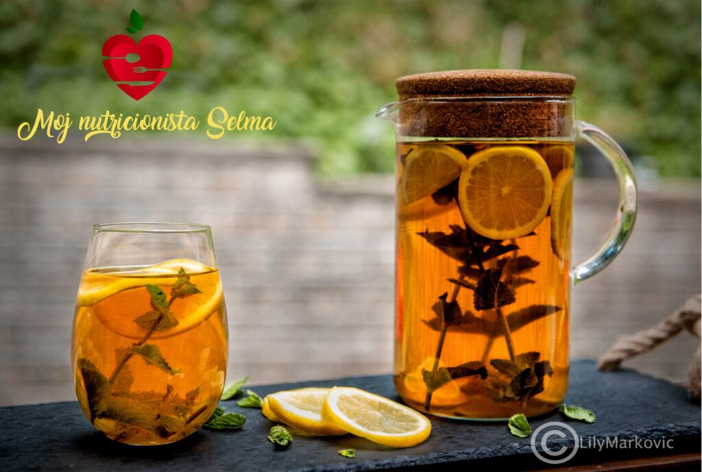 Ledeni čaj za detoksikaciju